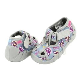 Befado children's shoes 190P093 blue grey multicolored 5
