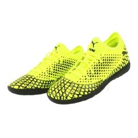 Puma Future 4.4 Tt M 105690 03 football shoes yellow 3