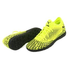 Puma Future 4.4 Tt M 105690 03 football shoes yellow 5