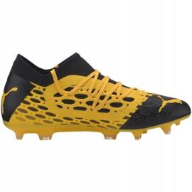 Puma Future 5.3 Netfit Fg Ag M 105756 03 football shoes yellow yellow 2