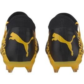 Puma Future 5.3 Netfit Fg Ag M 105756 03 football shoes yellow yellow 4