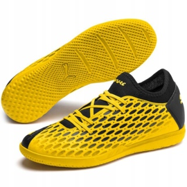 Puma Future 5.4 It M 105804 03 indoor shoes yellow yellow 3