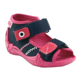 Befado children's shoes 242P056 navy pink 3