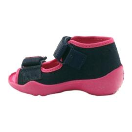 Befado children's shoes 242P056 navy pink 4