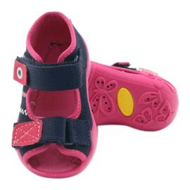 Befado children's shoes 242P056 navy pink 5