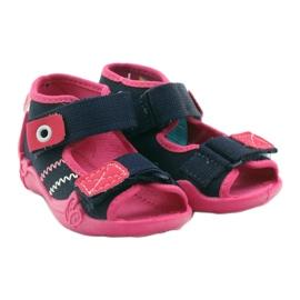 Befado children's shoes 242P056 navy pink 6