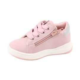 Girls' sports shoes star American Club GC15 pink grey 2