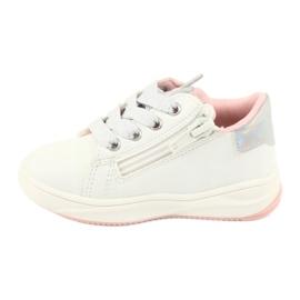 Girls' sports shoes star American Club GC15 white grey 2