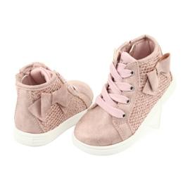 American Club girls' sports shoes GC17 pink 4