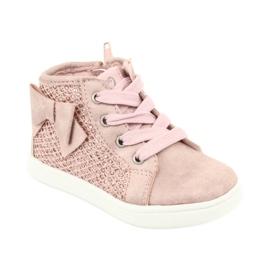 American Club girls' sports shoes GC17 pink 1