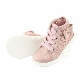 American Club girls' sports shoes GC17 pink 5