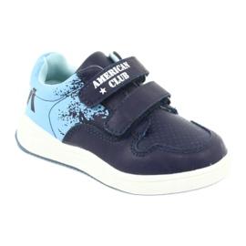 American Club GC18 Velcro Sports Shoes navy blue 1