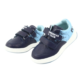 American Club GC18 Velcro Sports Shoes navy blue 3