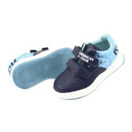 American Club GC18 Velcro Sports Shoes navy blue 5