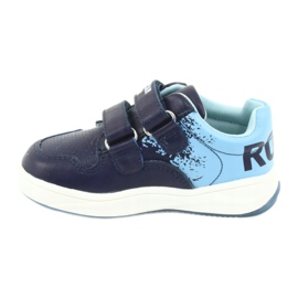American Club GC18 Velcro Sports Shoes navy blue 2