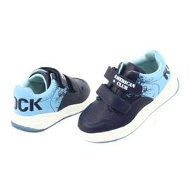 American Club GC18 Velcro Sports Shoes navy blue 4