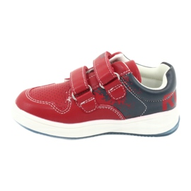 American Club GC18 Velcro Sports Shoes red navy 2