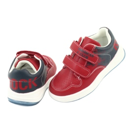 American Club GC18 Velcro Sports Shoes red navy 4
