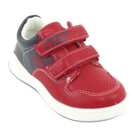 American Club GC18 Velcro Sports Shoes red navy 1