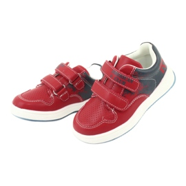 American Club GC18 Velcro Sports Shoes red navy 3
