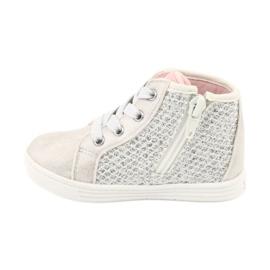 American Club girls' sports shoes GC17 white grey 2