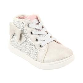 American Club girls' sports shoes GC17 white grey 1