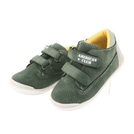 American Club GC22 Velcro shoes grey green 3