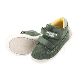 American Club GC22 Velcro shoes grey green 5