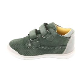 American Club GC22 Velcro shoes grey green 2
