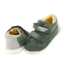 American Club GC22 Velcro shoes grey green 4