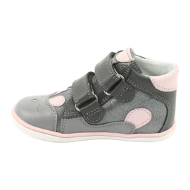 Velcro hooks rabbit Bartek 11702 pink grey 2