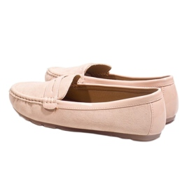 Pink moccasins with FM2958-3 buckle 6