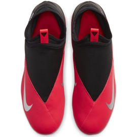 Nike Phantom Vsn 2 Club DF / MG M CD4159-606 football shoes red red 1