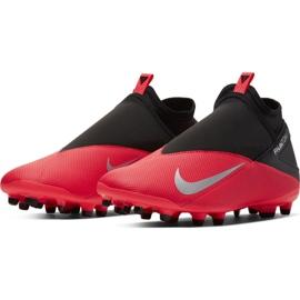 Nike Phantom Vsn 2 Club DF / MG M CD4159-606 football shoes red red 3