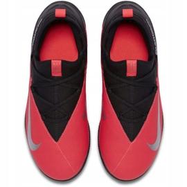 Indoor shoes Nike Phantom Vsn 2 Club Df Ic Jr CD4072-606 red black 1