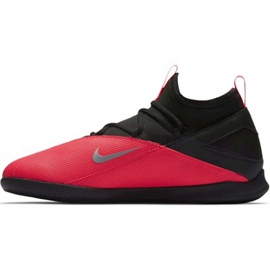 Indoor shoes Nike Phantom Vsn 2 Club Df Ic Jr CD4072-606 red black 2