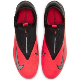 Nike Phantom Vsn 2 Pro Df Fg M CD4162-606 football shoes red red 1