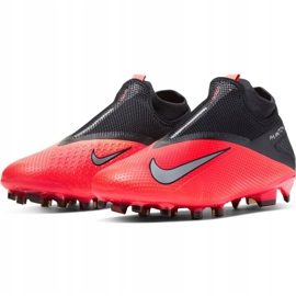 Nike Phantom Vsn 2 Pro Df Fg M CD4162-606 football shoes red red 3