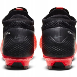 Nike Phantom Vsn 2 Pro Df Fg M CD4162-606 football shoes red red 4