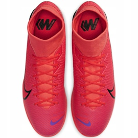 Nike Mercurial Superfly 7 Academy Ic M AT7975-606 indoor shoes red red 1