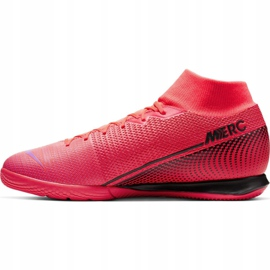 Nike Mercurial Superfly 7 Academy Ic M AT7975-606 indoor shoes red red 4