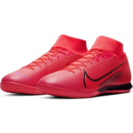 Nike Mercurial Superfly 7 Academy Ic M AT7975-606 indoor shoes red red 5