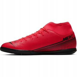 Nike Mercurial Superfly 7 Club Ic M AT7979-606 indoor shoes red red 2