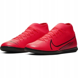 Nike Mercurial Superfly 7 Club Ic M AT7979-606 indoor shoes red red 3