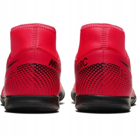 Nike Mercurial Superfly 7 Club Ic M AT7979-606 indoor shoes red red 6