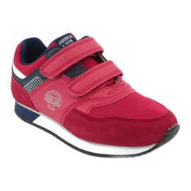 American Club American RH20 red sports shoes white navy 1