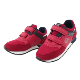 American Club American RH20 red sports shoes white navy 3