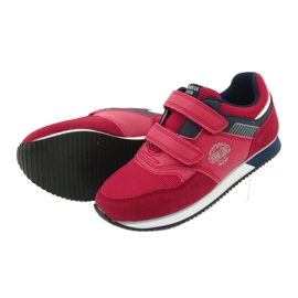 American Club American RH20 red sports shoes white navy 5