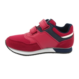American Club American RH20 red sports shoes white navy 2