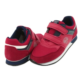 American Club American RH20 red sports shoes white navy 4